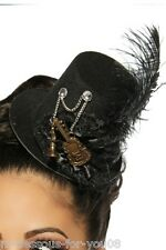 Cylinder Mini Hat Carnival Rockabilly Fancy Dress Party Steampunk Burlesque /