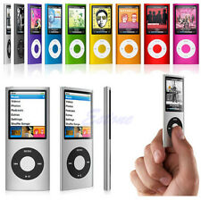 "4GB 1.8"" Slim LCD MP4 MP3 Music Media FM Radio Video Player 4th Micro SD/TF Card"