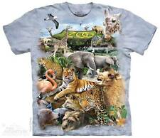 "ANIMALS ""ZOO PUZZLE"" CHILD T-SHIRT THE MOUNTAIN ---IN STOCK!!"
