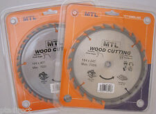 184mm MTL brand TCT Circular Saw Blade for Wood: Choose 24T & 40T, 16/20/30 bore