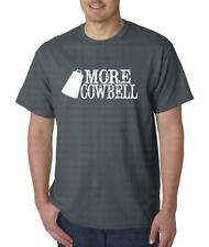 More Cowbell SNL Funny T Shirt Nerd Gift Rock Saturday Night Live Ferrel Will