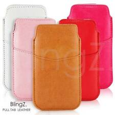PU LEATHER POUCH COVER CASE PULL TAB FOR VARIOUS SAMSUNG GALAXY S2 S3 S4