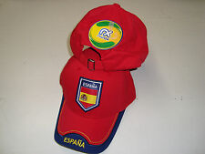 SPAIN ESPANA FIFA WORLD CUP 2014 PENALTY SHOT STRAPBACK SOCCER FOOTBALL HAT NEW