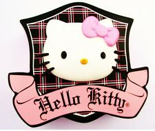 """5.5-9"""" HELLO KITTY PINK BOW CHARACTER WALL SAFE STICKER BORDER CUT OUT"""