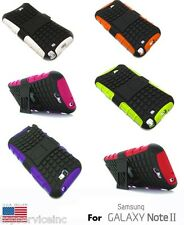 Impact Resistance Case with build in Kickstand for the Samsung Galaxy Note 2 II