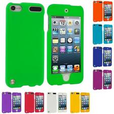 Color Hard Snap-On Rubberized Covered Case for iPod Touch 5th Generation 5G 5