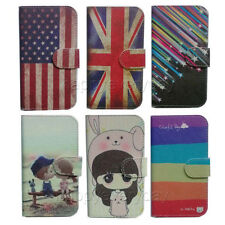 slim Wallet Card Pocket cartoon cute case Cover For NOKIA LUMIA