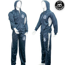 Gym Power Mens MMA Tracksuit Jacket Pants Boxing Training Casual wear S M L XL