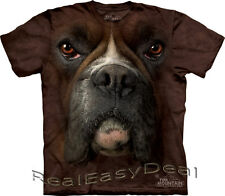"""Adult BOXER DOG The Mountain Animal T Shirt """"Boxer Face"""" All Sizes 10-3257"""