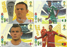 PANINI WORLD CUP ADRENALYN XL 2014 GAME CHANGERS TOP MASTER PICK WHAT YOU NEED