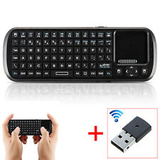 Wireless Keyboard Remote With TouchPad Mouse For Samsung Smart Hub TV Supported