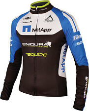 ENDURA TEAM REPLICA LONG SLEEVE CYCLE JERSEY RRP £38.99