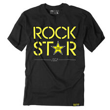 Factory Effex Rockstar Energy Duplex Black T-Shirt Tee Adult Mens Licensed NEW