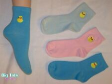 Adult Baby Ducky Socks *Big Tots by MsL