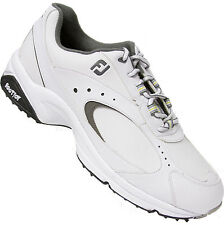 FootJoy GreenJoy Athletic Golf Shoes White 45326 Mens Closeout New