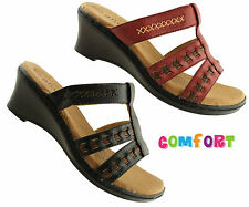ANDRE FLATERING LADIES/WOMENS SHOES/COMFORT/WEDGES/SANDALS/SLIP ONS/ ON SALE NOW