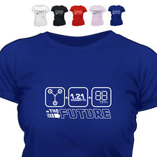 Back To Retro The Future T Shirt All Size/Colours