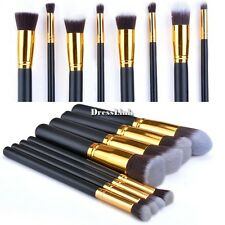 8pz Kabuki Pennelli Cosmetico Kit Make Up Trucco Brush Spazzole Set 8 colori DL0