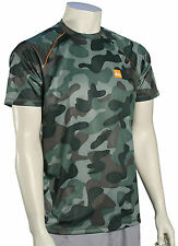 Quiksilver Waterman Surf N Turf Surf Shirt - Green Camo - New