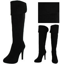 Jessica Simpson Audrey Women's Knee High Suede Dress Boots
