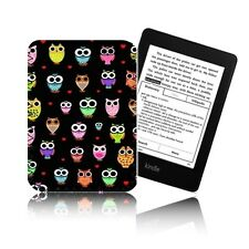 'OWLS' Retro Case For Amazon KINDLE VOYAGE  - Neoprene Pouch, Cover UK