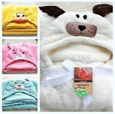 Pretty Hooded Animal Modeling Cloak Baby Bathrobe Cartoon Infant Bath Tower DUS