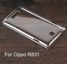 For Oppo R827 R829 R831 New Crystal Clear hard case DIY cover