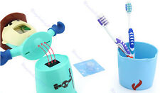 Automatic Toothpaste Dispenser+Cup 3 in 1 Household Bathroom +Toothbrush Holder