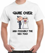 GAME OVER & POSSIBLY THE SEX TOO! T-SHIRT - Stag Party Do