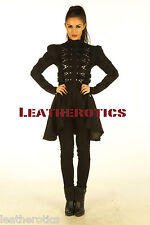 Ladies Steampunk Gothic Cyber Military COAT TOP RETRO JACKET online clothing sp6