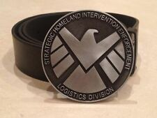 SHIELD logo BUCKLE + FREE BELT Marvel's Agents of S.H.I.E.L.D modern COULSON new