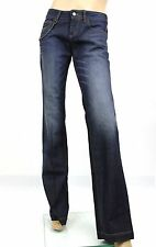 $660 NEW Authentic Gucci 70's Stone Washed Jeans Pants w/Metal Chain,319304 4100