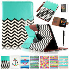 360 Degree Rotating Leather Smart Case Cover For 2012 Amazon Kindle Fire Hd 7