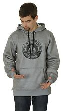 2014 NWT MENS BURTON CROWN BONDED PULLOVER HOODIE $65 ash heather grey snowboard