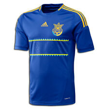 Ukrainian The Ukraine National Football Team Uniform T-Shirt Soccer Adidas