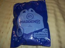 McDonald's Madden NFL Happy Meal Toys Steelers, Broncos, Patriots,Cowboys & More
