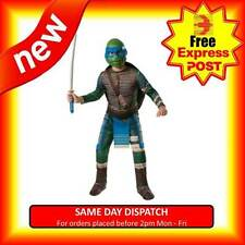 TMNT TEENAGE MUTANT NINJA TURTLES LEONARDO FULLMASK COSTUME ADULTS FANCY DRESS