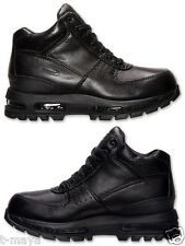 NIKE ACG AIR MAX GOADOME 2013 BOOTS MEN's M LEATHER BLACK NEW IN BOX SELECT SIZE