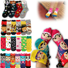 Cartoon Womens Multiple Colors Warm Winter Stocking Lovely Casual Ankle Socks
