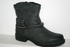 Dockers Ankle Boots, Women Shoes Ankle Boots Boots Lined Dark Grey