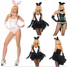 New Sexy Adult Ladies Girl Bunny Fancy Dress Costume Cosplay Party Club Outfit
