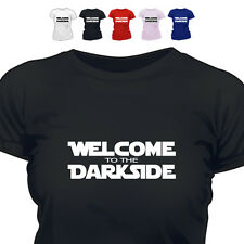Welcome To The Darkside Funny Retro T Shirt All Colours