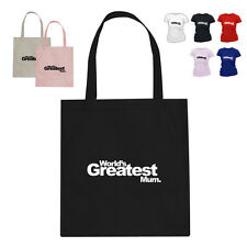 Worlds Greatest Mum Mothers Day Gift Tote Bag