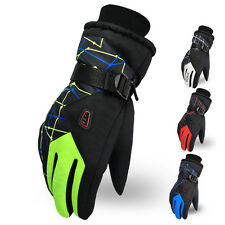 New Waterproof Women Men Thermal Winter Motorcycle Ski Snow Snowboarding Gloves