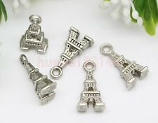 10/20/50pcs Zinc alloy nice iron tower Jewelry Finding Charm Pendant 16x8mm