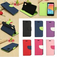 Hybrid Magnetic PU Leather Case Cover Wallet Card Stand for LG Google Nexus 5