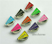 Wholesale multi quantity Cheer horn  floating charms lot locket charms  FC120