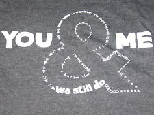 YOU & ME - HIS & HERS COUPLES T-SHIRTS Gray WEEKEND TO REMEMBER Anniversary GIFT