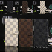 Magnetic Wallet Card Leather Flip Case Stand Cover for Apple iPhone 6 / 6 Plus