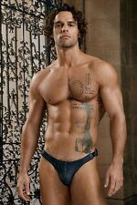 Tengo Denim-Like Stretched Cotton Side Buckle Thong by Hardwear Size S/M/L/XL